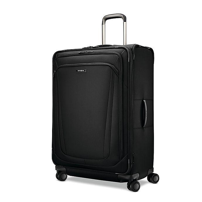 Alternate image 1 for Samsonite® Silhouette 16 31-Inch Spinner Checked Luggage in Black