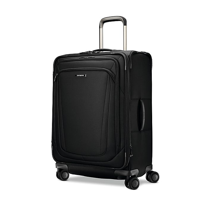 Alternate image 1 for Samsonite® Silhouette 16 26-Inch Spinner Checked Luggage in Black