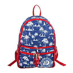 Margaritaville® Palm Tree 14.5-Inch Packable Backpack in Blue 475f5f1e88099