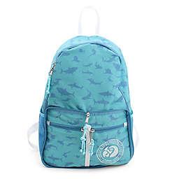 Margaritaville® Shark 14.5-Inch Packable Backpack in Aqua