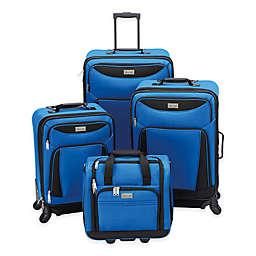 Geoffrey Beene Hempstead 4-Piece Luggage Set