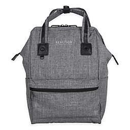 7f03d397db56 Kenneth Cole Reaction Wide-Mouth Laptop Backpack in Grey