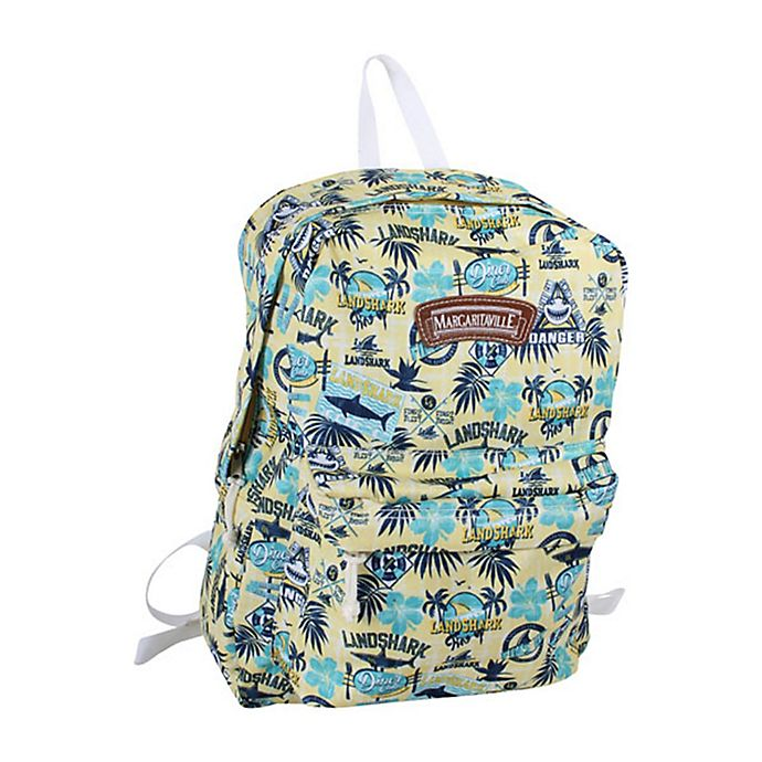 Alternate image 1 for Margaritaville® Landshark 16-Inch Backpack in Yellow