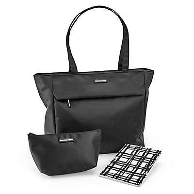 Geoffrey Beene 3-Piece Women's Business Tote Set in Black