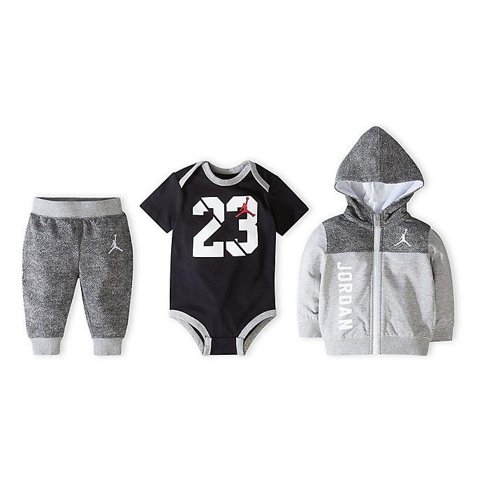 db3c225a6 Jordan Newborn 3-Piece Jumpman Hoodie