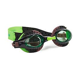 Camo Swim Goggles in Black