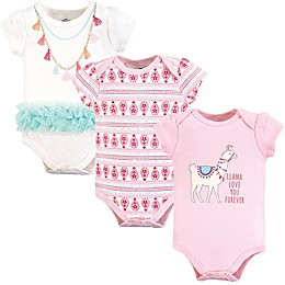 Little Treasures 3-Pack Llama Bodysuits