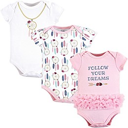 Little Treasures 3-Pack Dream Catcher Bodysuits