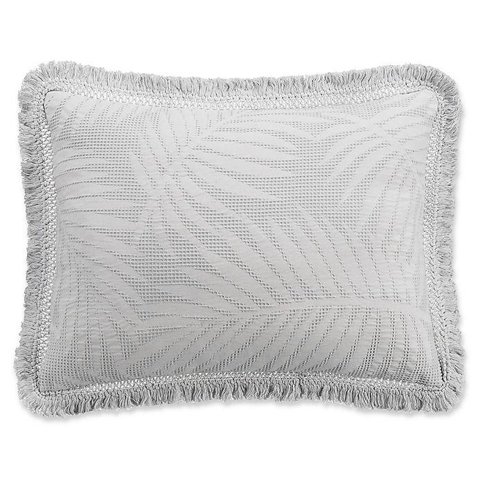 Alternate image 1 for KAS ROOM Terrell Standard Pillow Sham in Grey