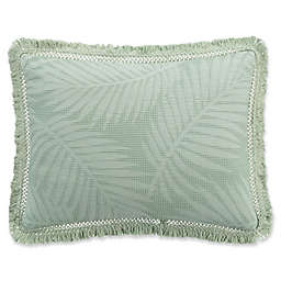 KAS ROOM Terrell King Pillow Sham in Sea Glass