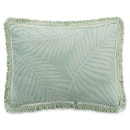 KAS ROOM Terrell King Pillow Sham in Sea Glass