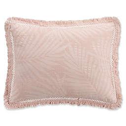 KAS ROOM Terrell Standard Pillow Sham in Blush