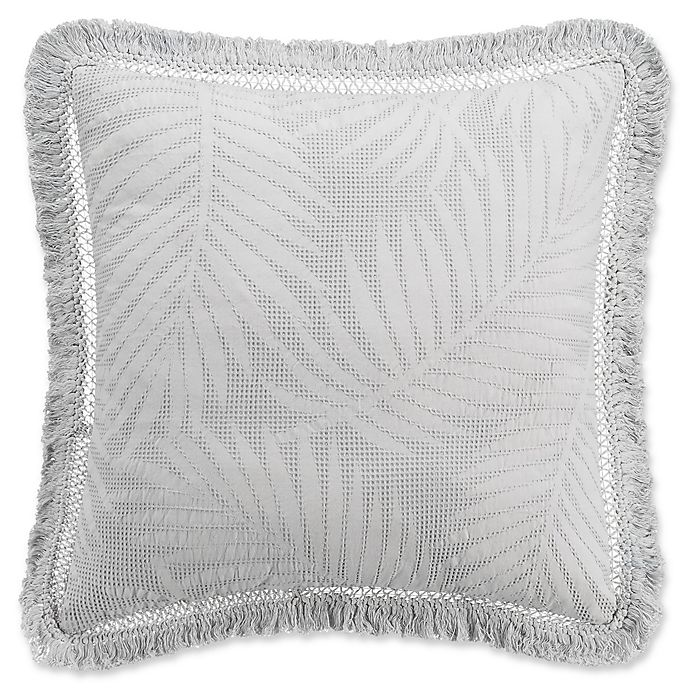 Alternate image 1 for KAS ROOM Terrell European Pillow Sham in Grey