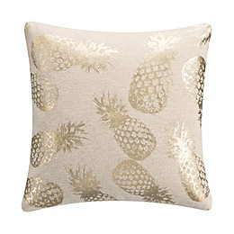 KAS Room Terrell Pineapple Square Throw Pillow