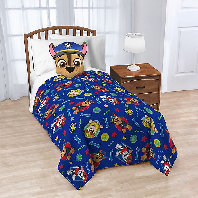 Alternate image 1 for Nickelodeon™ PAW Patrol Nogginz Pillow and Blanket Set