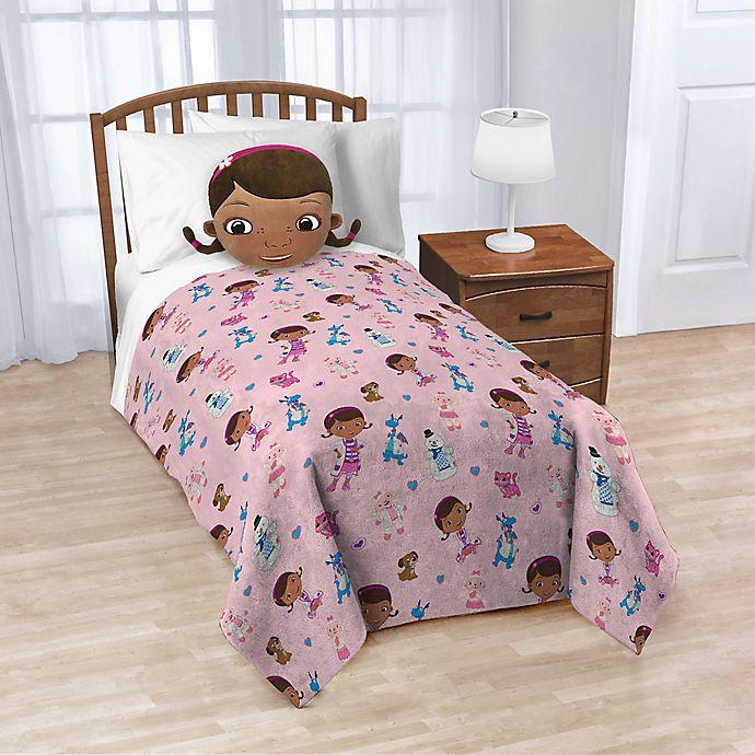 Alternate image 1 for Disney® Doc McStuffins Nogginz Pillow and Blanket Set