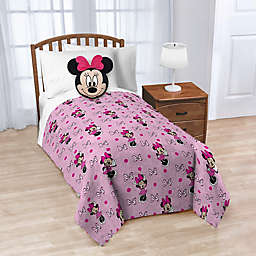 Disney® 2-Piece Minnie Nogginz Throw Blanket and Pillow Set