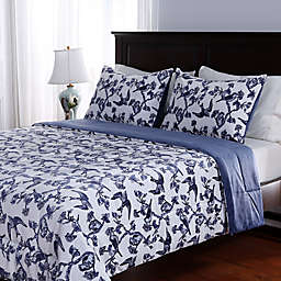 Berkshire Blanket® Birds in Flight Reversible Comforter Set