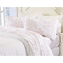Great Bay Home Toile Flannel Sheet Set
