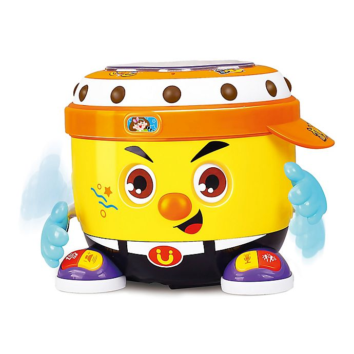 Alternate image 1 for Hola DJ Party Musical Toy Drum