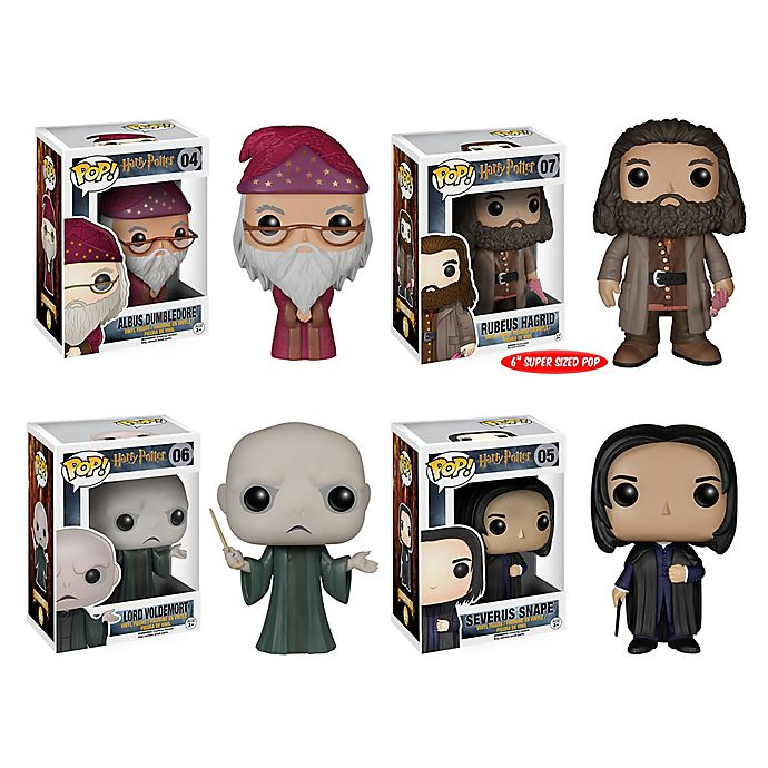 Alternate image 1 for Funko® POP! Harry Potter Movie Classic 4-Piece Collectible Figures Set