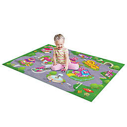 Disney® Minnie Mouse Mega Play Mat with Bonus Vehicle