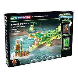 Laser Pegs Creatures Swamp Survival 240-Piece Block Set