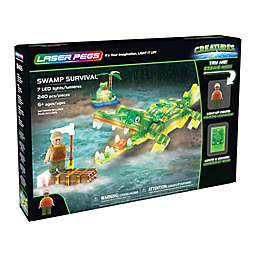 Laser Pegs Creatures Swamp Survival 240-Piece Block Set