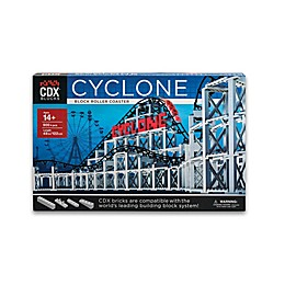 CDX Blocks Cyclone Roller Coaster Building Set
