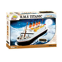 Action Town 1914 Titanic White Star 500-Piece Set