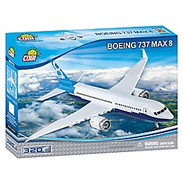Boeing 737 Max 8 Airplane Building Kit