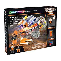 Laser Pegs Monster Rally Wrecker Truck 250-Piece Block Set