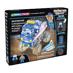 Laser Pegs Monster Rally Destroyer Truck 200-Piece Block Set