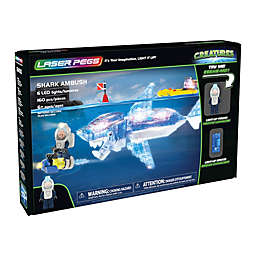 Laser Pegs Creatures Shark Ambush 160-Piece Block Set