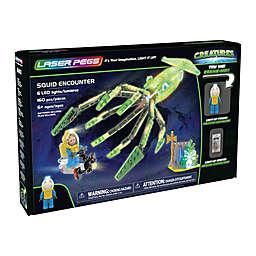Laser Pegs Creatures Squid Encounter 160-Piece Block Set
