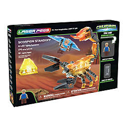 Laser Pegs Creatures Scorpion Standoff 170-Piece Block Set