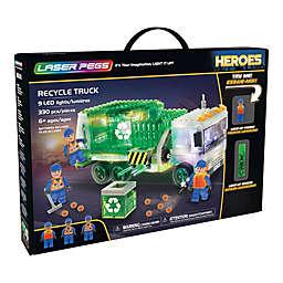 Laser Pegs Heroes Recycle Truck 330-Piece Block Set