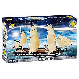 USS Constitution Ship 800-Piece Building Set