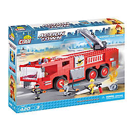 Airport Fire Truck 420-Piece Building Set
