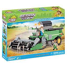 Eco Power Combine Harvester 350-Piece Building Set
