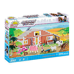 On The Ranch 350-Piece Building Farm Set