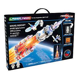Laser Pegs Mars Rocket 580-Piece Block Set