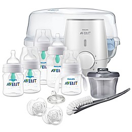Philips Avent Anti-Colic Bottle with AirFree Vent All-in-One Gift Set
