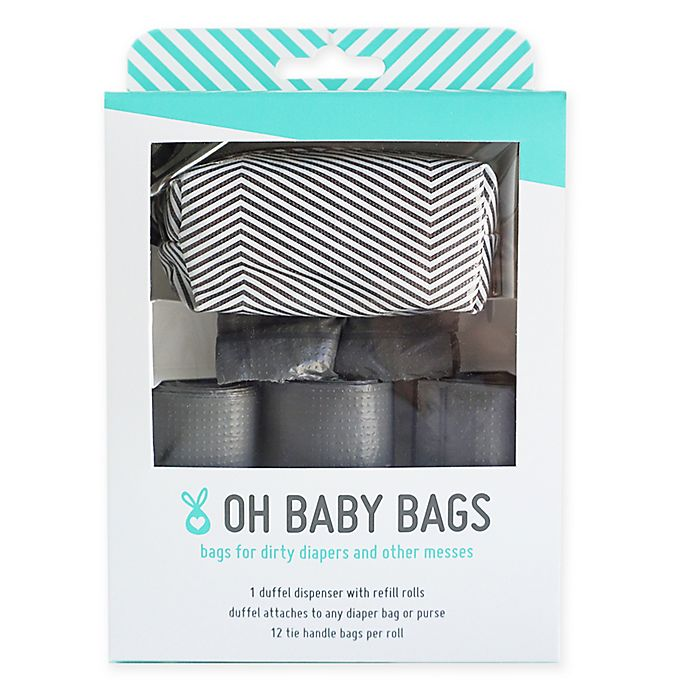 Alternate image 1 for Oh Baby Bags Baby Duffel Gift Box