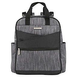 Bananafish Macie Backpack Diaper Bag in Black
