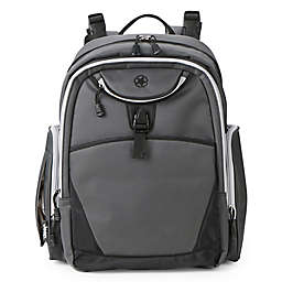 Jeep® Adventurer's Backpack Diaper Bag in Grey
