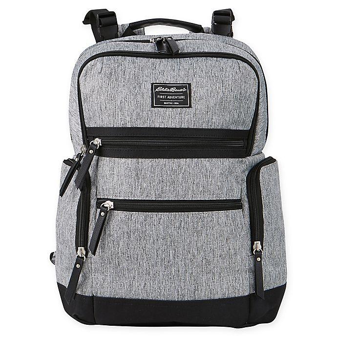 Alternate image 1 for Eddie Bauer® Sport Traveler Diaper Backpack in Grey