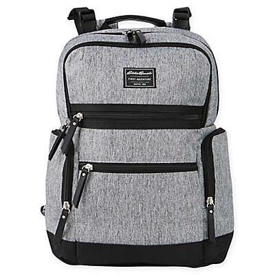 Eddie Bauer® Sport Traveler Diaper Backpack in Grey