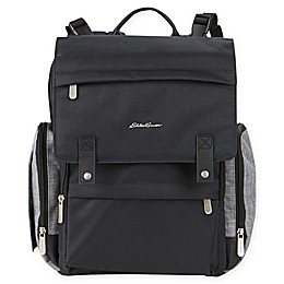 Eddie Bauer® Crosstown Backpack Diaper Bag in Black