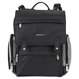 Eddie Bauer® Crosstown Backpack Diaper Bag in Black